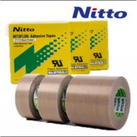 Nitto 973UL High Temperature PTFE PTFE Fiberglass Tape with Silicone Adhesive Manufactures