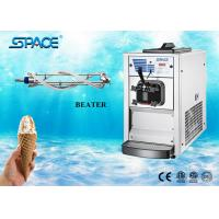 Soft Serve Table Top Ice Cream Machine Gravity Feed Full Stainless Steel Beater Manufactures