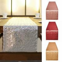China Bulk Fancy Fabric Table Runner , Dining Table Cloth Mats Customized Size on sale