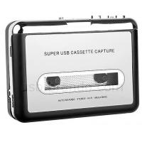 USB Cassette Capture, Convert Tapes and Cassette to MP3, Portable USB Cassette-to-MP3 Converter Capture Manufactures