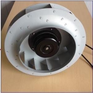 Low Noise EC Motor Backward Curved Blower Ventilation Fan 250mm X 56mm Manufactures