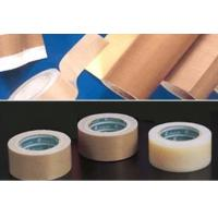 PTFE coated fiberglass adhesive sheet & tape , high temperature resistance Manufactures