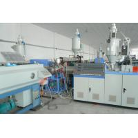 China PP Plastic Pipe Extrusion Line For Water Drainage , Pipe Range 50-160mm on sale