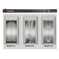 China SN - DP - 373 Elevator Cabin Decoration ST . ST Marvelous Home Elevators Door Panel on sale