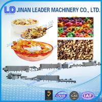 China Corn Flakes Breakfast Cereals Machine for sale on sale