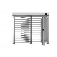 Semi auto security Turnstile Full Height Anti tailgating with optimal traffic rate