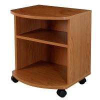 Movable Bedroom Night Stands Particle Board , Contemporary Bedside Tables For Tighter Spaces Manufactures