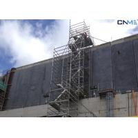 Aluminium Stair Type Concrete Shoring Systems , Lightweight Scaffolding Systems Manufactures