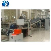 Energy Saving TPE Sheet Extrusion Line With Spiral Feeding 200~380kg/H Manufactures