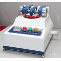 Small Textile Testing Equipment / Taber Abrasion Tester With Tesuipment High Speed 60 R.P.M Manufactures