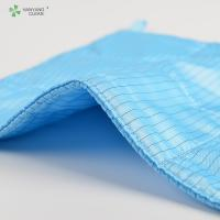 Reusable Clean Room Wipes , 3 Layers Microfiber Cloth For Electronics Manufactures