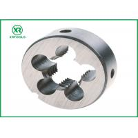 NPT HSS Thread Cutting Dies With White Finished Round Shape ISO4230 Approval Manufactures