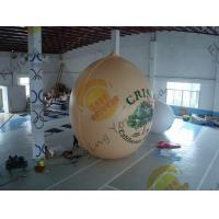 Air Brush UV Printed Wall Nut Fruit Shaped Balloons For Helium / Event Show 5m High Manufactures