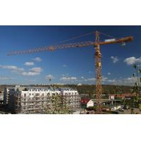 3T - 25T QTZ63C Electric Control Hydraulic Mechanical Self Erecting Tower Cranes Manufactures