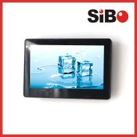 "7"" Wall Surface Mount Industrial Touch Tablet With PoE Temperature Sensor Manufactures"