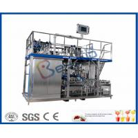Quality Juice / Tea Beverage Production Line , Beverage Manufacturing Equipment for sale