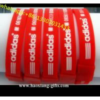 Professional Cheap Custom Adjustable charm Silicone Wristband/bracelet Manufactures