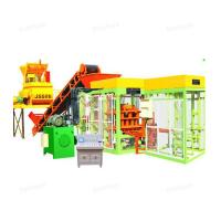 QTJ4 -15 Hydraulic Automatic Cement Brick Making Machine With Long Life Manufactures