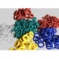 Translucent , Red Silicone Rubber Washers For Automobile / Air Valve Seals Manufactures