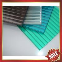 China hollow polycarbonate sheeting,polycarbonate roofing sheeting,roof panel,nice building product,excellent waterproofing! on sale