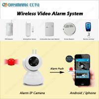 China Wireless Smart home alarm 720p real-time ip camera monitoring system on sale