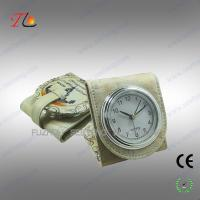Folding mini fancy desk alarm clock and travel alarm clock with moscow building printed Manufactures