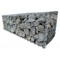 China 3mm Heavy Duty Galfan Cage Welded Mesh Gabions For Rock Retaining Wall on sale
