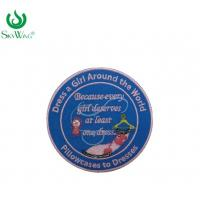 China Beautiful Sew On Custom Embroidered Patches Customized Material Oem Service on sale