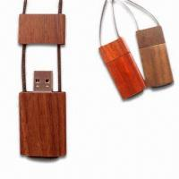 Wooden Material USB Flash Drive, 16GB of Capacity Manufactures