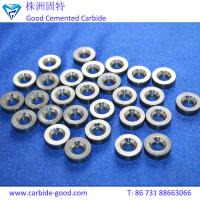 China Tungsten carbide valve seat tools for mud pump&valve ball and valve seat cemented carbide ball valve seat ring on sale