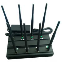 China Signal jammer | 8 Bands GSM/3G USA 4G-LTE WIFI GPS-L1 VHF UHF Jammer Manufactures