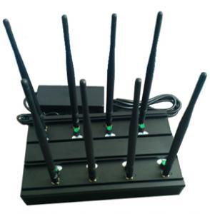 Signal jammer | 8 วง GSM / 3G WiFi gps-l1 VHF UHF Jammer 4g-lte สหรัฐอเมริกา Manufactures