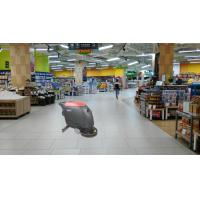 Supermarket Floor Scrubber Dryer Machine With Held And Big Water Tank Manufactures