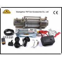 China 12V / 24V 4wd Recovery Kit 12000Lbs Electric Winch With Fairlead Remote on sale
