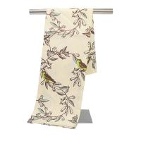Custom Kitchen Tea Towels 100 Cotton Dish Towels With Silk Screen Printing Manufactures