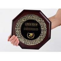 China Customized Wooden Shield Plaque Souvenirs For Business Authorization Certification on sale