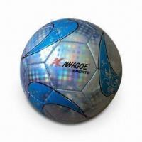 China Soccer Ball, Pattern Grain Finish Laser PVC, Chinese-style Design on sale