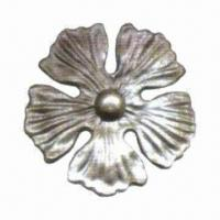 Exact Mild Steel Components with Flower Design and Anti-rust Surface Manufactures