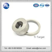 China coating material Dia 300 mm high Purity 99.99% titanium Ti target on sale