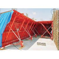 Professional Red Color Tunnel Formwork System Reusable OEM / ODM Available Manufactures