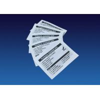 Technical Cleaning Wipe Thermal Printer Cleaning Kit 40 Pieces / Box Manufactures