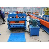 Slate Shake Profile Highway Guardrail Roll Forming Machine 20-30 GA Thickness Manufactures