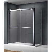 Rectangular Small Glass Shower Enclosures Hotel Luxury 990mm*790mm adjustment Manufactures