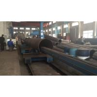 China 12m  Length CNC Pipe Making Machine With Lincoln Welding Source on sale