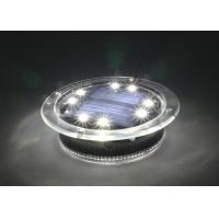 Swimming Pool Solar Decorative Lights 500 Lux With 1.2V 300MAH Ni-MH Battery Manufactures