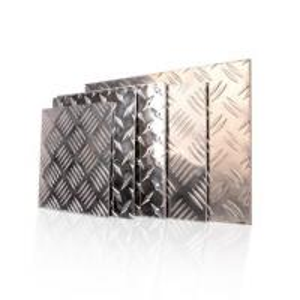 600 - 2000mm Width Aluminium Checker Plate Five Bar Tread Sheet For Boat Lift Manufactures