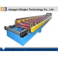 Buy cheap Touch Screen Roofing Corrugated Sheet Roll Forming Machine With Hydraulic Cutting from wholesalers