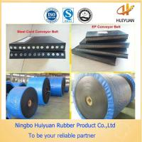 Steel Cord Conveyor Belt with a better flexibility than fabric core conveyor belt Manufactures
