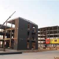 Q345 Factory Construction Frame Prefabricated Steel Structure Luxurious Prefab Villa Manufactures