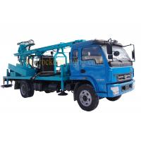 Truck mounted 210m Hole Depth Hydraulic Borehole Drilling Machine Water well drilling rig Manufactures